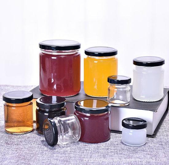 653d863b86b7 Wholesale Classic Round Food Storage Jar Sealed Glass Mug Glass Jar  25 50 75 100ml