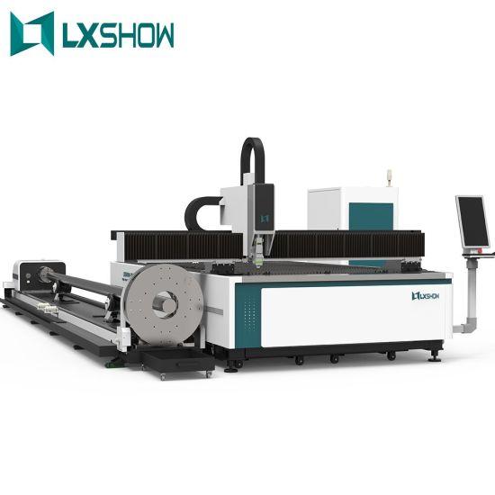 China Lxshow High Precision Cheap Price Best CNC Tube Pipe Cutter Fiber Laser Cut Steel Sheet Metal Cutting Machine Manufacturers Service for Iron Aluminium