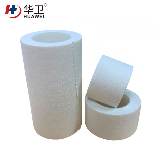 Medical Adhesive Glue Surgical Tape Roll Zinc Oxide Tape Roll Dispensing Tape