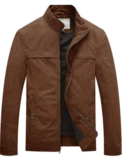 Custom Logo Print Labels OEM Windbreaker Jacket