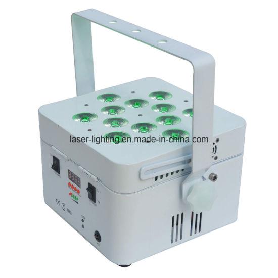 12PCS LED Rechargeable Battery DMX Wireless PAR Light