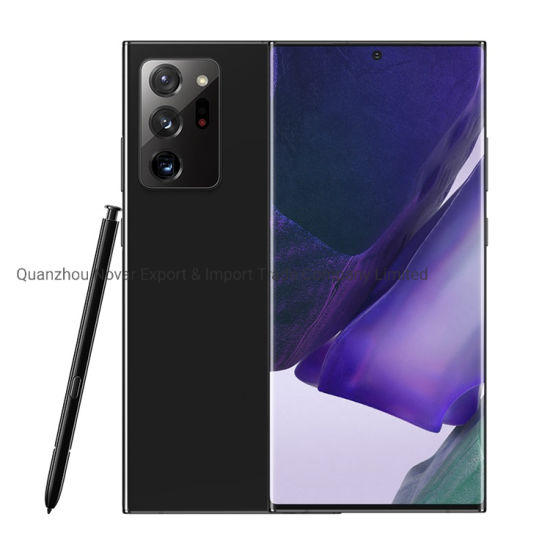 New 5g Fingerprint Unlock Smart Phone Note20 Ultra 8GB+256GB Big Screen Mobile Phones