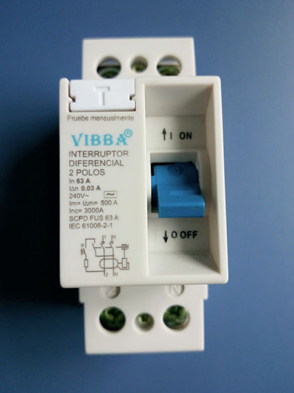 Vibba Series Residual Current Circuit Breaker pictures & photos
