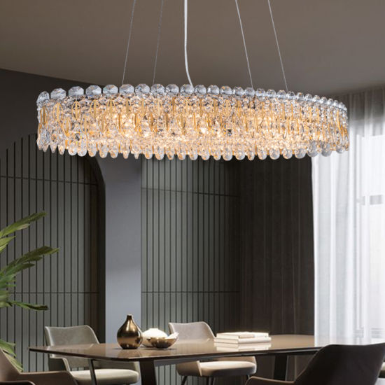 Popular Crystal Chandelier in Gold (S8M05-6) for Hotel