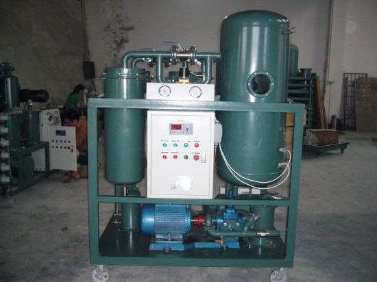 Turbine Oil Purification/Filtration/Recycling Machine (Series-TY)