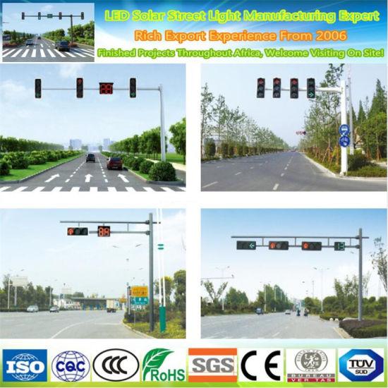 6.5m Price Traffic Light Steel Galvanized Street Lighting Pole