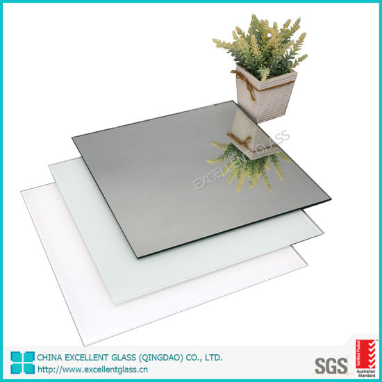Silver Mirror with Double Coated for Bathroom Usage Without Frame