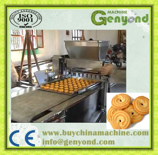 100-180kg Per Hour Small Capacity Cookies Making Machine pictures & photos