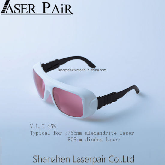 Fashion Laser Safety Glasses/Goggles Transmittance 45% for Dir Lb6 100% High Quality Wholesale Price