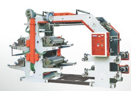 Four-Color Middle Speed Flexo Printing Machine