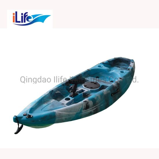 Ilife New Type Single Electric Motor Fishing Boat Kayak with Pedal Drive