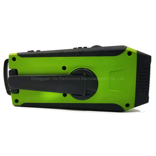 Portable Rechargeable Wholesale Radio with FM/Am 2 Band Reading Lamp Flashlight Torch pictures & photos