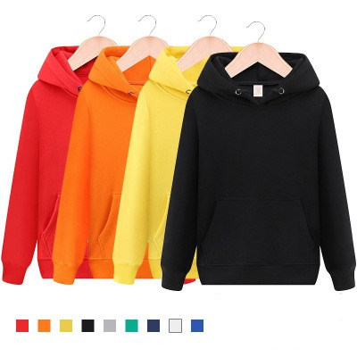 Wholesale New Pullover Blank French Terry Cotton Hoodie