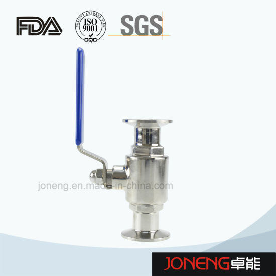 Stainless Steel Hygienic Two Way Straight Type Ball Valve (JN-BLV1007) pictures & photos