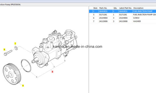 China Engine Spare Parts Spare Part Component Engine Parts