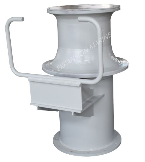 Marine Pneumatic Capstan for Lifting and Pulling
