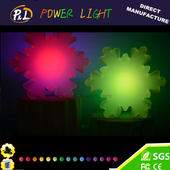 Glowing Color Changing Decoration LED Snow Christmas Light pictures & photos