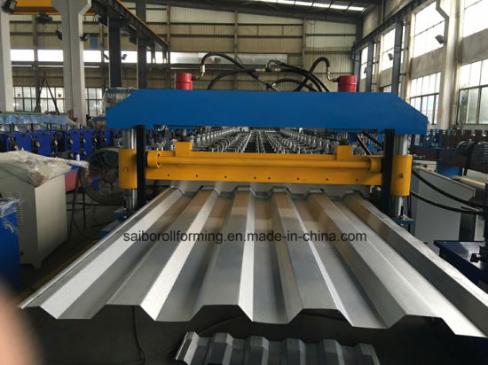 Hc35 Roofing/Wall Roll Forming Machine (YX35-205-1030)