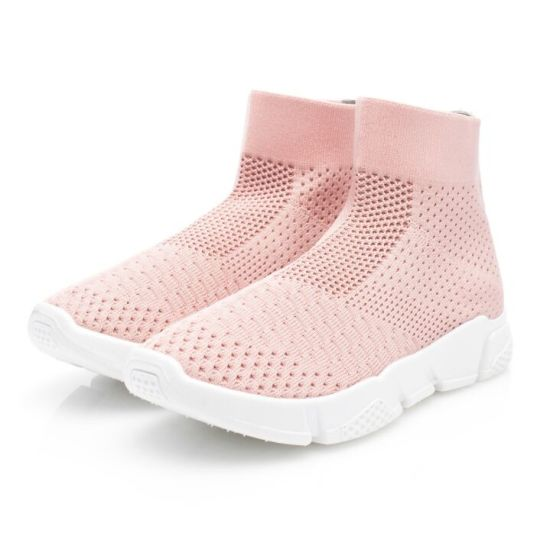 Mesh Breathable High Top Sports Leisure Fly Sport Casual Running Sneakers Shoes pictures & photos