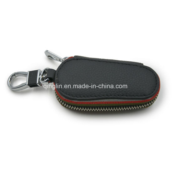 Men′s Key Wallet Promotion Gift PU Leather Wallet Key Holder pictures & photos