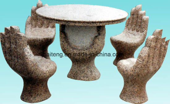 Superieur Granite Hand Shaped Whole Set Table