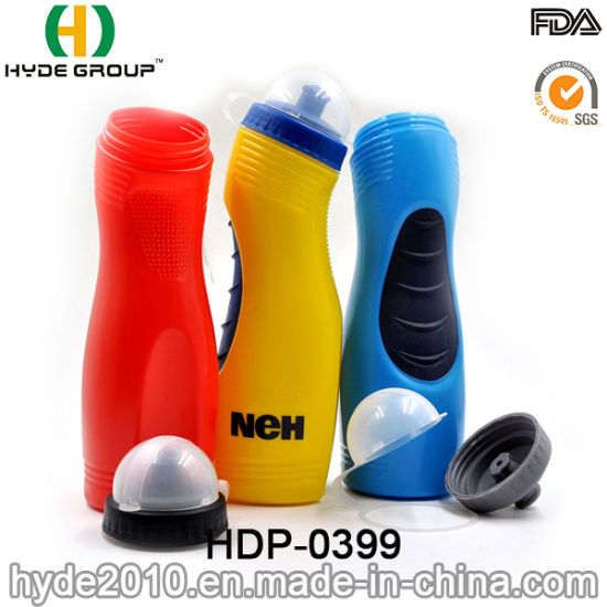 Promotional Squeeze Plastic Sport Water Bottle, PE BPA Free Plastic Sport Bottle (HDP-0399) pictures & photos