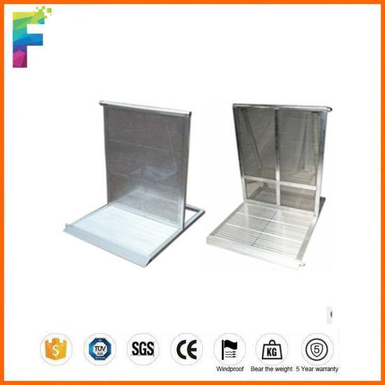 Manufacturer of Aluminum Mojo Security Barrier Concert Barrier Crowd Control Barrier