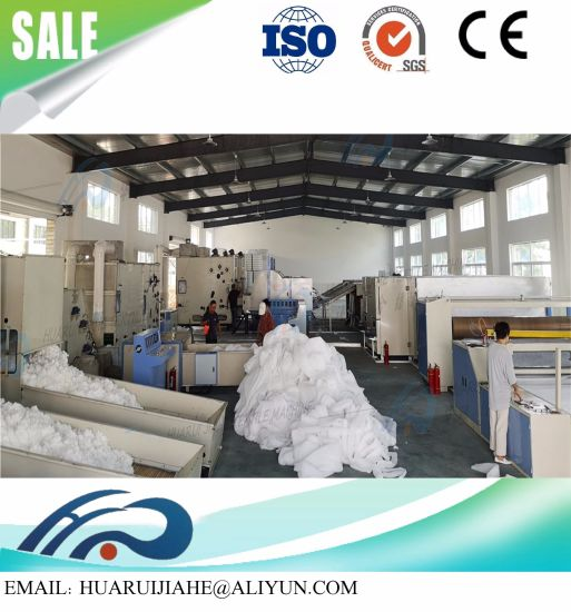 Thermal Bonding Wadding Production Line, Formed Felt Production Line, Comforter Production Line
