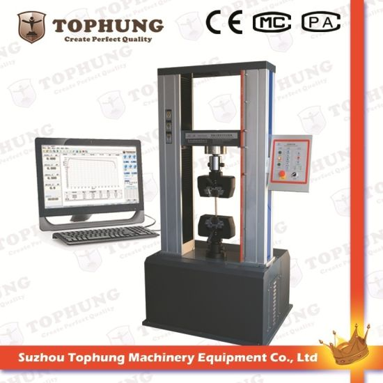 Computer Control Servo Universal Material Tensile Strength Testing Equipment (TH-8120S)
