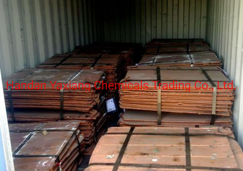Factory Price Copper Cathodes Plates Sheet/Copper Ingot/ Copper Cathode Cu 99.99%