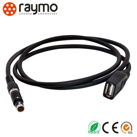 Fischer Alternative Push Pull Circular Connector with dB9 DC Cable Assembly pictures & photos