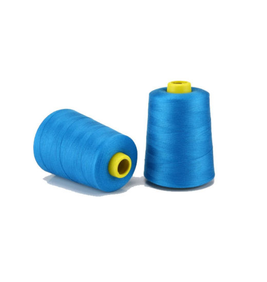 100% Spun Polyester Yarn Clothes and Bags Sewing Thread pictures & photos