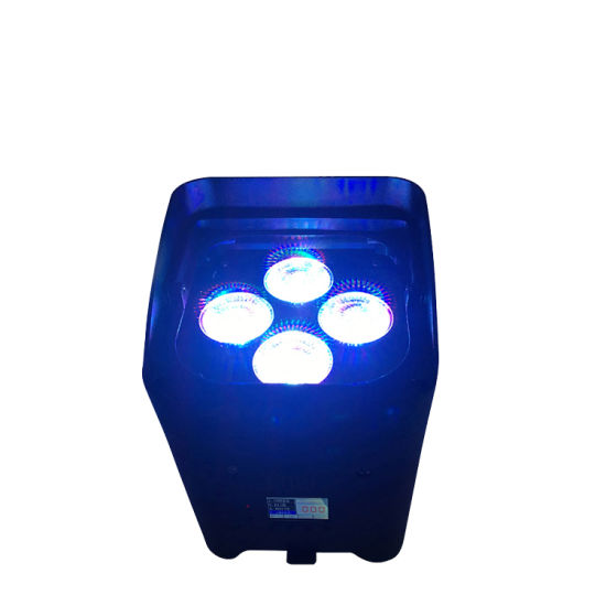 China Rasha New App Mobile Irc Remote Control Wireless Led Par Light