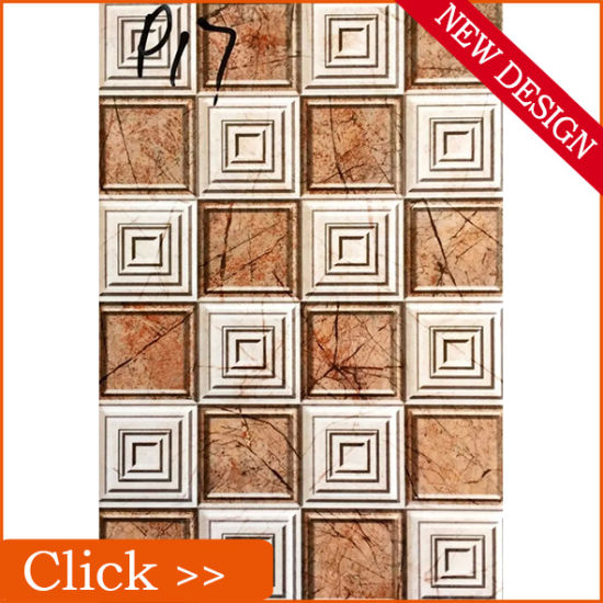China Embossed Faux Leather 3D Clearance Pattern Ceramic Wall Tiles ...