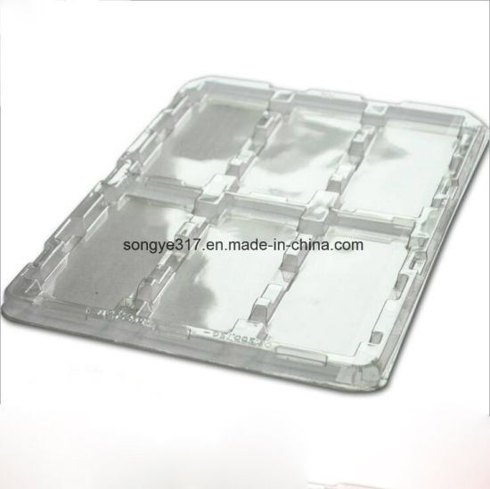 LED Transparent Rectangular Plastic Packing Tray pictures & photos