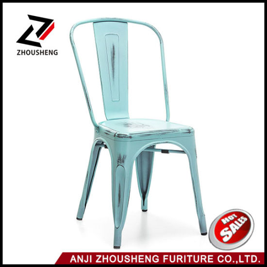 Admirable China Vintage Restaurant Stackable Metal Seat And Back Cjindustries Chair Design For Home Cjindustriesco