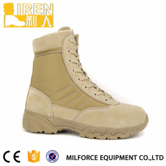 Modern Design Good Quality Military Army Desert Boots pictures & photos