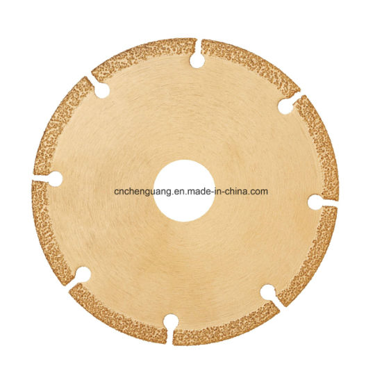 Long Life Low Noise Diamond Cutting Disc for FRP Silicon Carbide pictures & photos