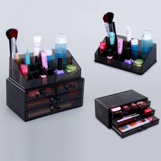 Tawney Acrylic Makeup Drawer Organizer