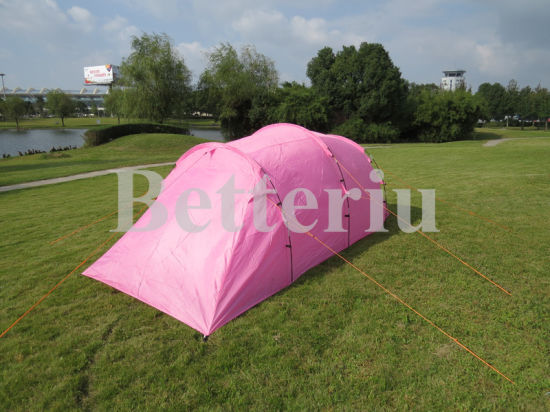 Duble Layer Large Family Tent with Plenty Space One Room and One Vestibule pictures & photos