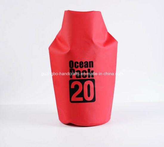 Cheap Wholesale 500d PVC 20L Water Proof Dry Bag