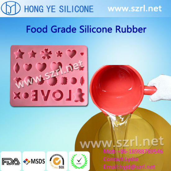Chocolate Making Silicone Rubber Liquid FDA Silicon Rubber pictures & photos