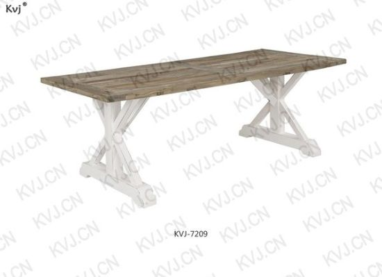 Excellent China Kvj 7209 Antique Style Reclaimed Elm Wood Dining Table Alphanode Cool Chair Designs And Ideas Alphanodeonline