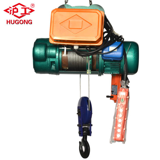 2 Ton CD Electric Wire Rope Hoist Wireless Control Lifting Equipment pictures & photos