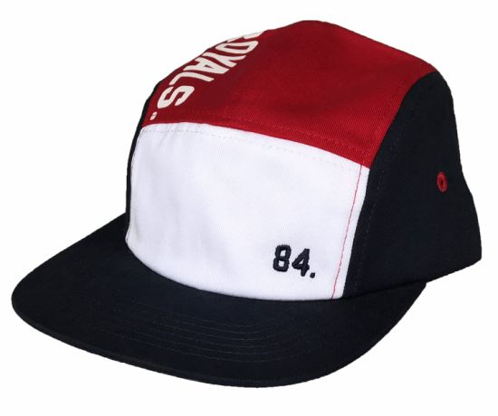 39420701cec84 China Fashion Design 5 Panel Hat with Printing Logo Basbell Cap ...