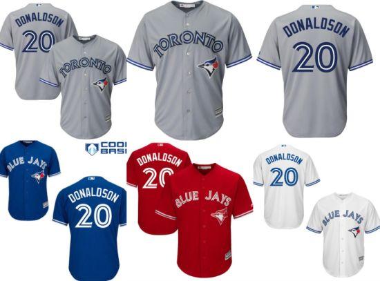 huge selection of 1fde7 304d7 blue jays jersey china