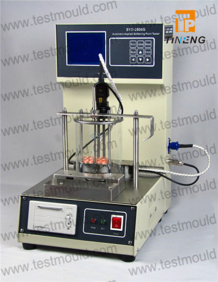 Automatic Ring and Ball Apparatus, Softening Point Testing Machine pictures & photos