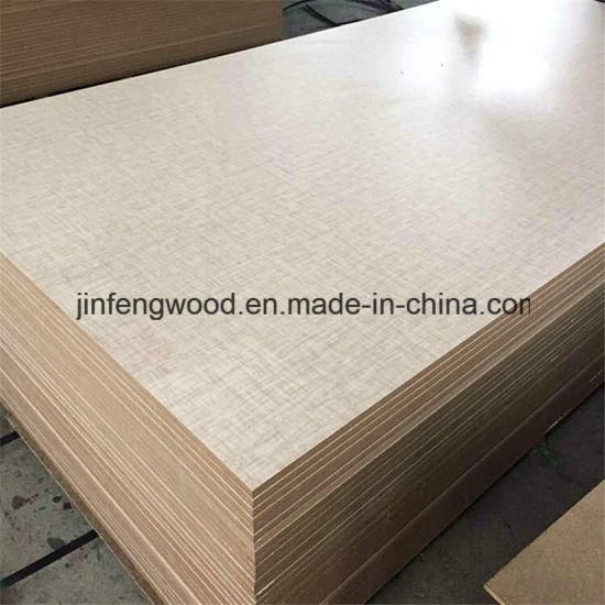 4*8FT White Color Melamine MDF for Furniture Cabinet pictures & photos
