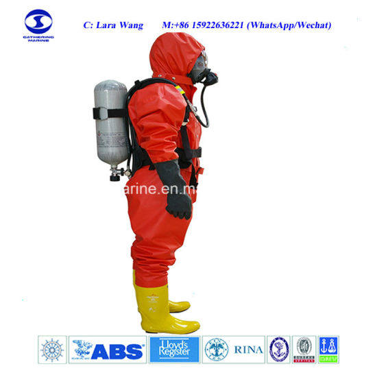 Solas Approved Chemical Protective Suit