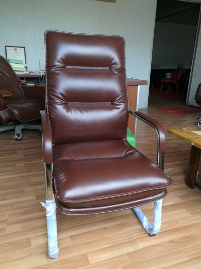 Workwell Visitor Office Chair Leather, Leather Office, Leather Executive Chair (FECC536)
